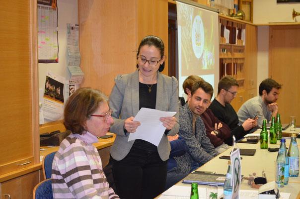 Jahreshauptversammlung 2020 - Dank an Elfriede Egger - Nach 20-jähriger Tätigkeit tritt Sie als Obfrau zurück