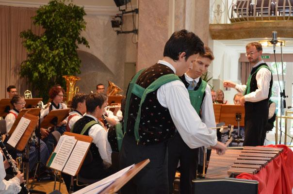 Jubiläumskonzert 2017 - Solisten Winterholer Thomas  und Wenter Thomas