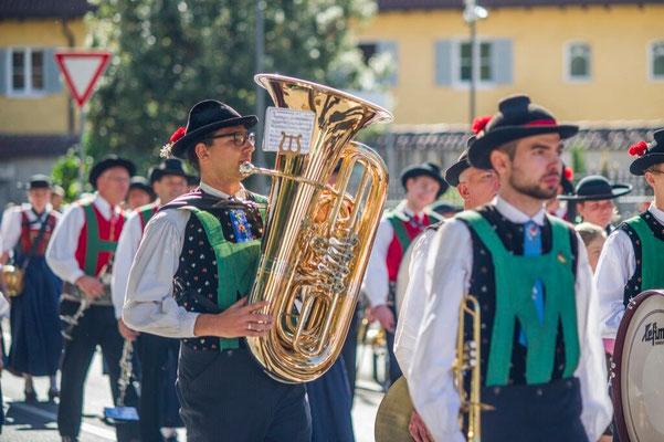 Traubenfest 2017 - Die Musikanten sind bereit