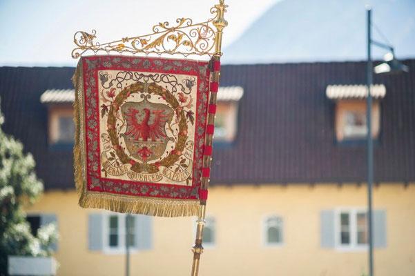 Traubenfest 2017 - Fahne der Stadtmusikkapelle Meran