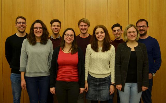 Jahreshauptversammlung 2020 - Der Neugewählte Vorstand der Stadtmusikkapelle Meran