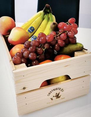 Die kleine Obstkiste mit 3,5 kg für ca. 7 Personen