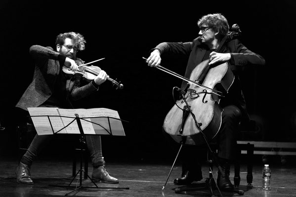 Théo Ceccaldi & Vincent Courtois