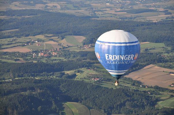 über Niederbayern bei Eggenfelden