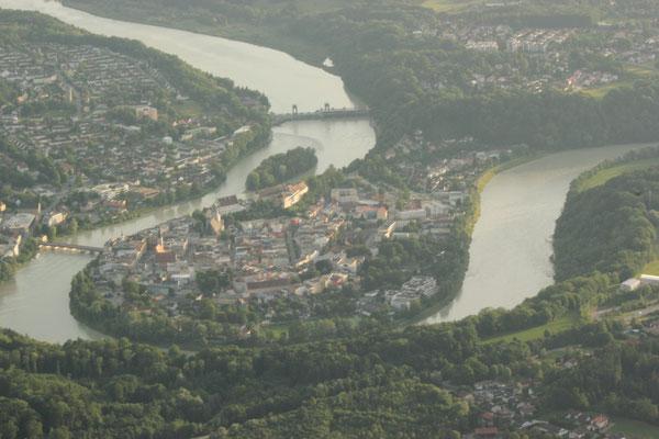 Wasserburg von oben - immer wieder beeindruckend!
