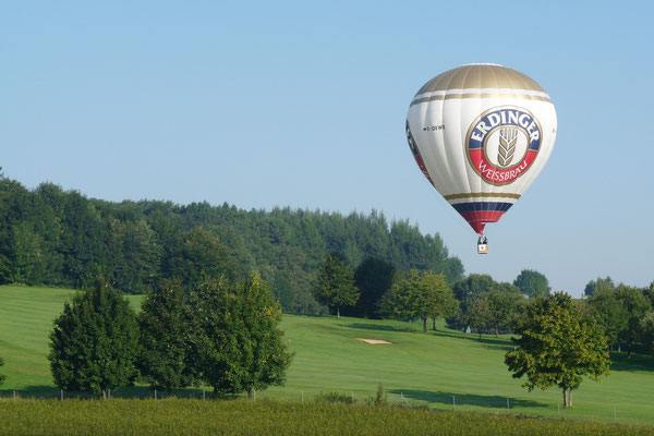 über dem Golfplatz Bad Griesbach