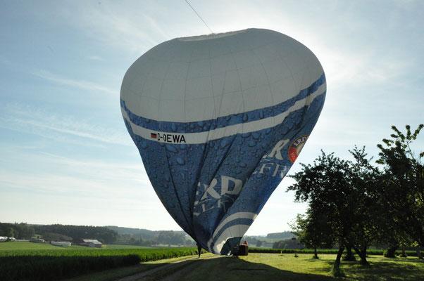 Landung bei Loiperstatt