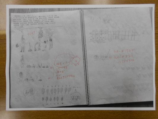 塾長さんの添削作品です。
