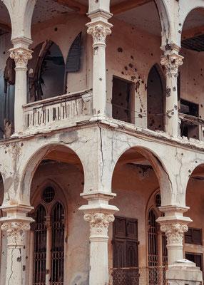 Ex Banca d'Italia (architetto Giuseppe Canè, 1928) - Massawa, Eritrea