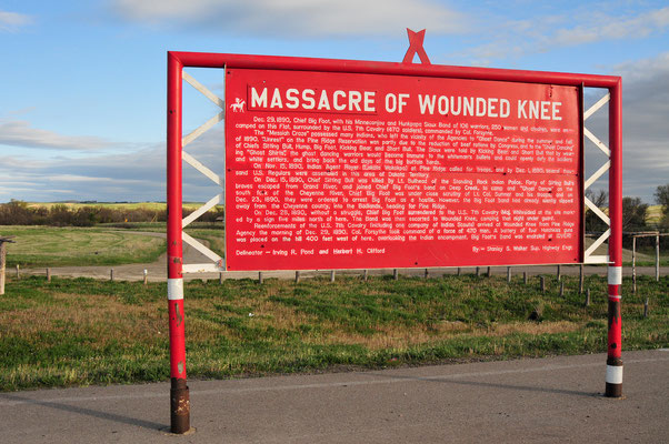 Wounded Knee Massacre Site, South Dakota