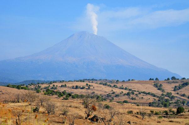 Volcano Popocatep,Puebla