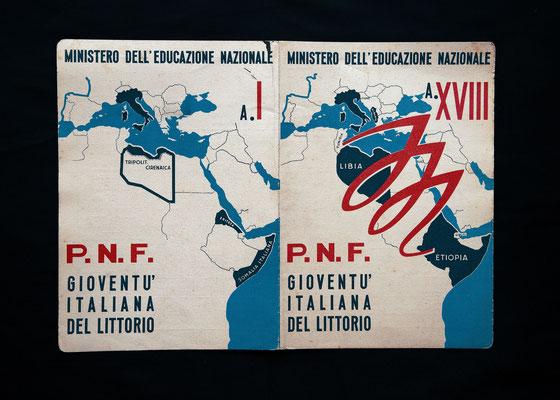 Pagella scolastica Italiana (1940)