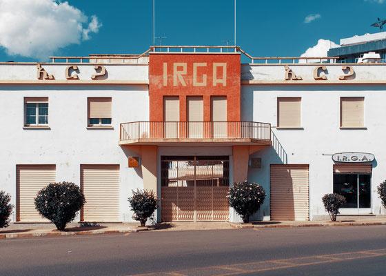 Ex Industria Riparazione Gomme Asmara (IRGA - architetto Carlo Mazzetti, 1961)