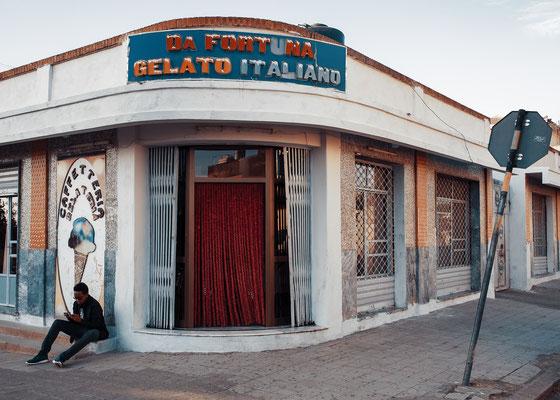Da Fortuna gelato italiano - Asmara, Eritrea