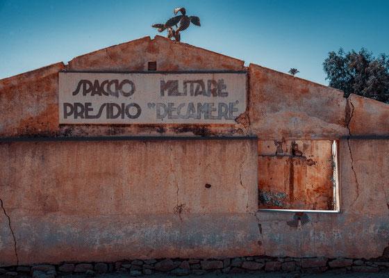 Spaccio Militare Presidio Decamerè - Dekemhare, Eritrea