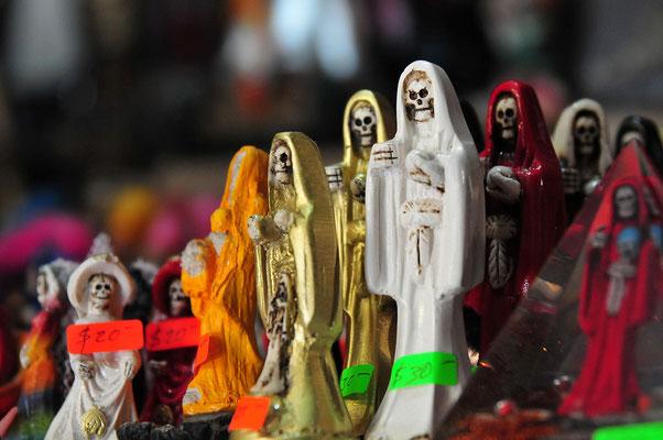 Altare della Santissima Muerte, Barrio Tepito, Ciudad de Mexico