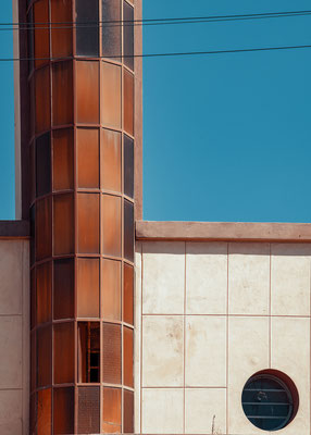 Ex Agenzia Lancia (architetti Carlo Marchi e Carlo Montalbetti, 1938) - Asmara, Eritrea