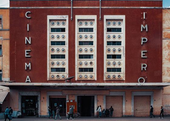 Cinema Impero (architetto Mario Messina, 1937) - Asmara, Eritrea