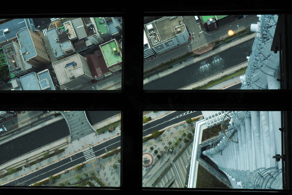 Glass floor at Tokyo Sky Tree Tower