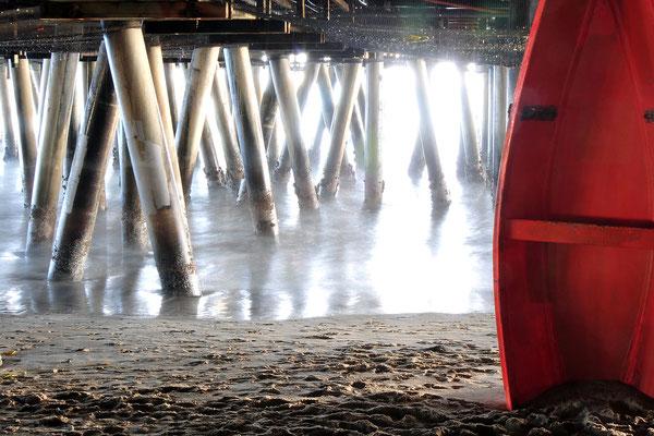 Under the Santa Monica Pier