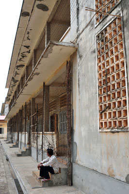 Tuol Sleng Genocide Museum,Carcere s-21, Phnom Penh