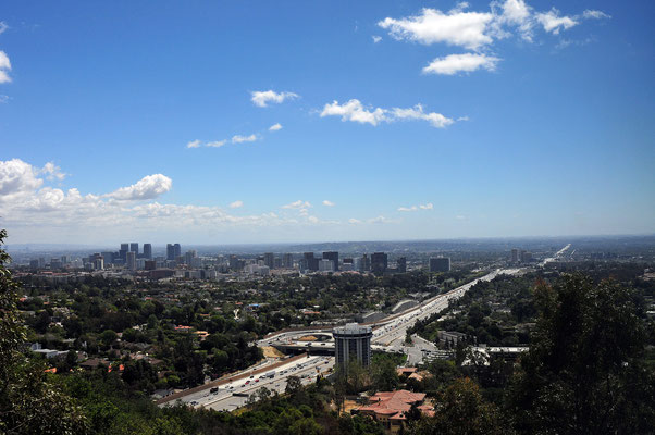 405 from Getty Center