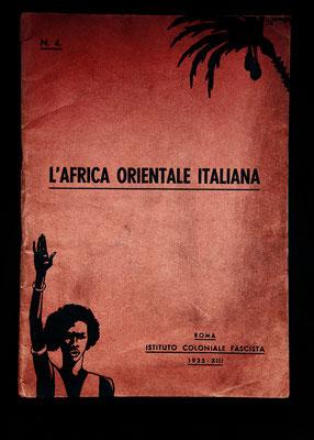 """Rivista """"L'Africa Orientale Italiana"""" a cura dell'Istituto Coloniale Fascista (1935)"""
