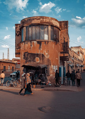 Edificio residenziale Mai Bela (architetto Lucio Masakili, 1938) - Asmara, Eritrea