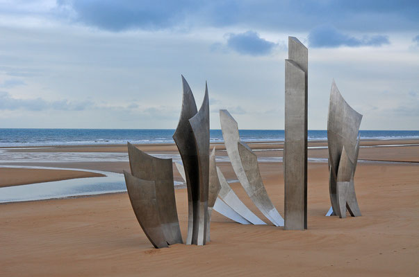 D-Day Monument - Omaha Beach / Normandie