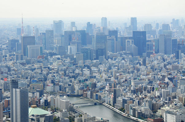 View from Tokyo Sky Tree Tower