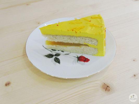 Kürbiswälder-Tortenstück