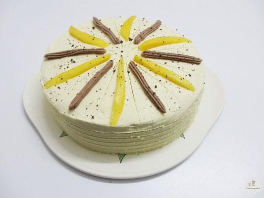 Mango-Schokocreme-Torte