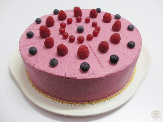 Beerencremetorte