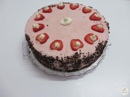 Erdbeer-Schokocreme-Torte