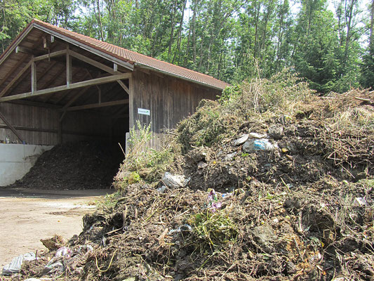Biomüll, Kompost, Recycling, Entsorgung, Biotonnenmüll