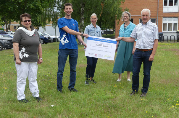 Förderpreis-Übergabe an CVJM Lollar durch den Verein Region Gießener Land e. V.
