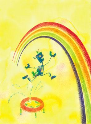 あの虹をつかむまで ぼくは跳びつづける