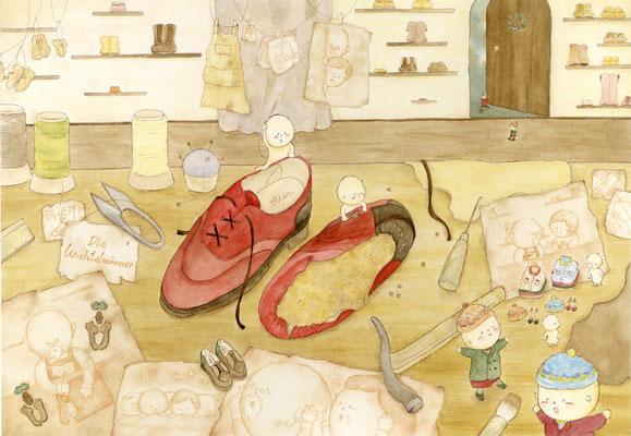 小人の靴屋