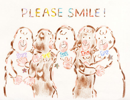 PLEASE SMILE!