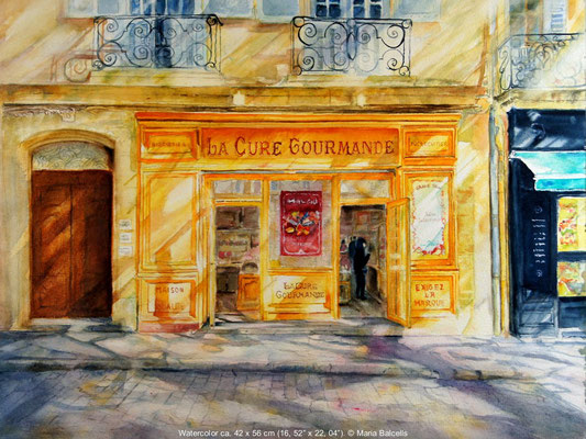 LA CURE GOURMANDE - AQUARELL