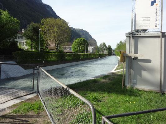 Oberlauf des Kanals. Bild: Jakob Kubli