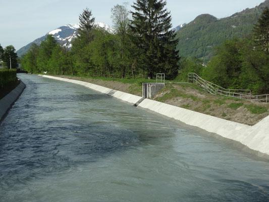 Unterlauf des Kanals. Bild: Jakob Kubli