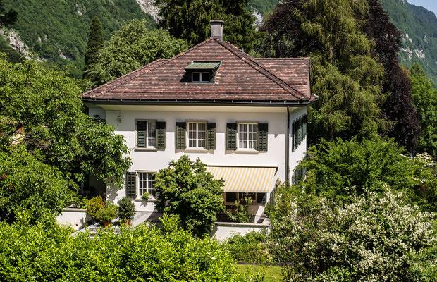 Villa Lerchenstrasse 1 Koord. 722672 213041