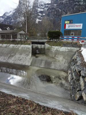 Umleitung Dorfbach