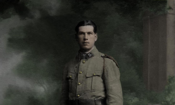 Portrait réparé et colorisé