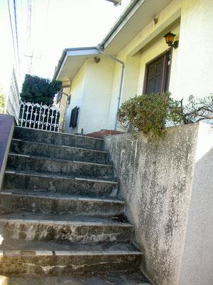 施工後(階段)
