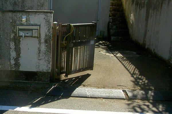 施工後(玄関前)