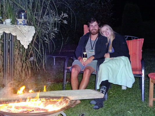 Romantic evening  with Alana and Ruan/ Melbourne