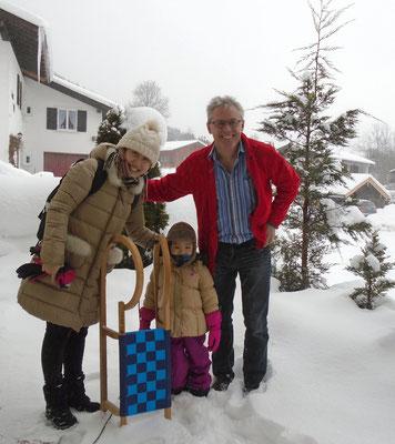 Bei & her daughter / Winter 2015