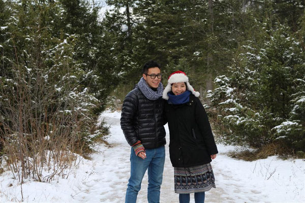 Min, Christmastime at Hintersee